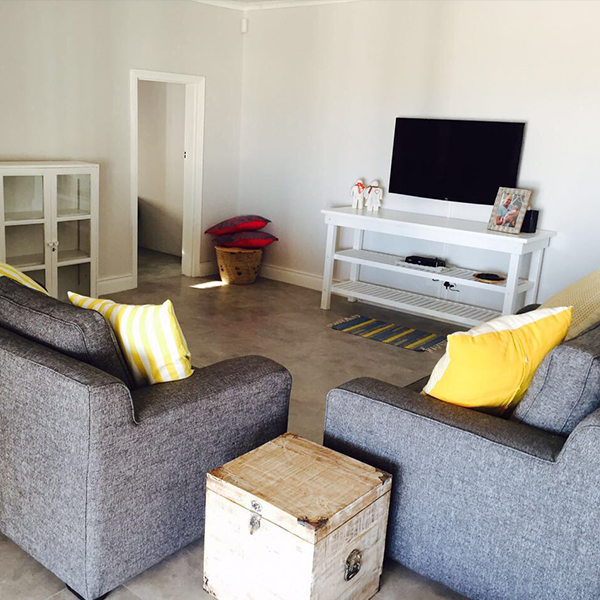Living-Room at the Lamberts Bay Holida