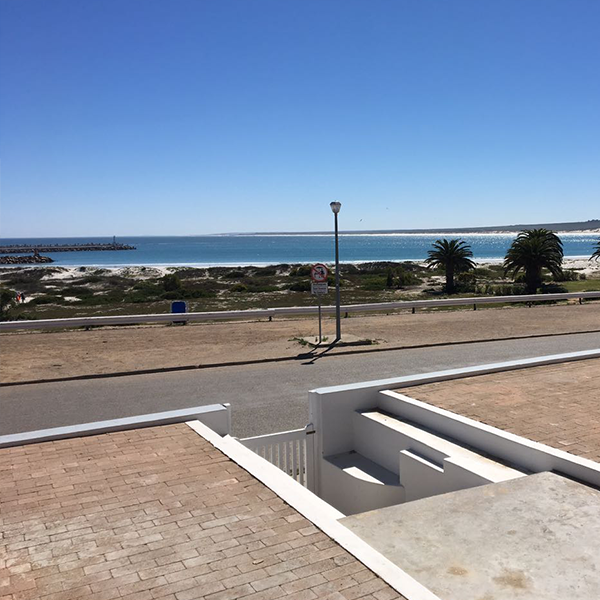 View from the Terrace of Lamberts Bay